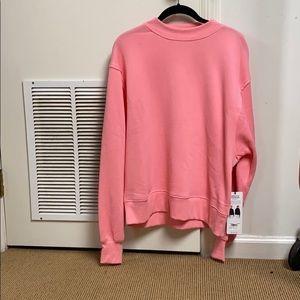 Alo freestyle sweatshirt macaron pink